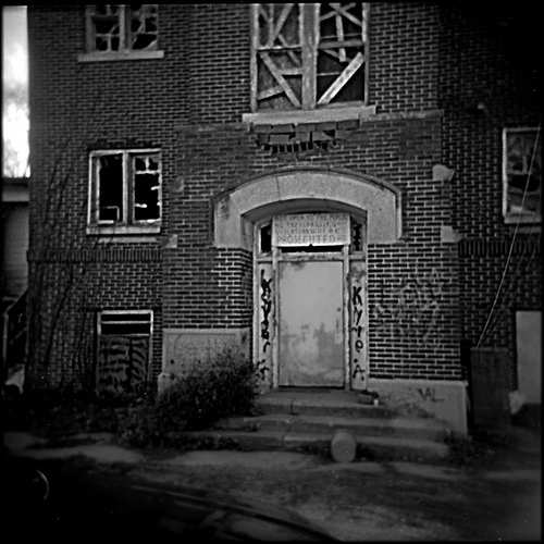 Ashmore Estates - Abandoned Insane Asylum in Central Illinois - Holga