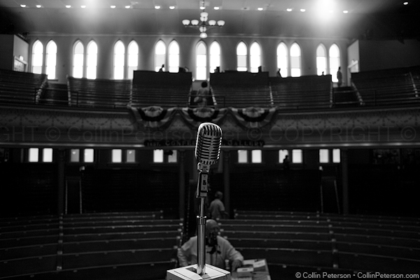 Ryman Auditorium Center Stage - Nashville, TN