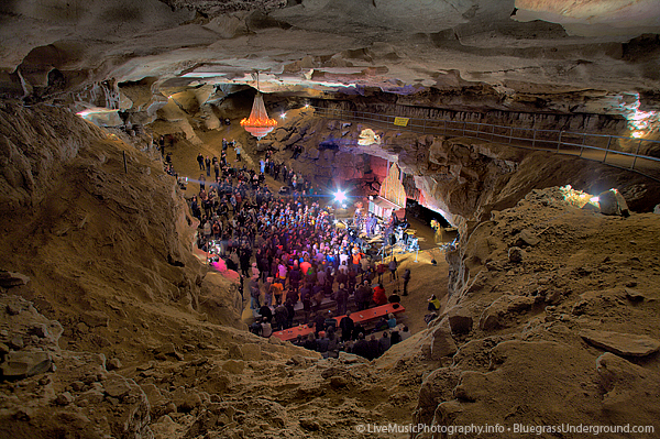 The Volcano Room - Cumberland Caverns - Bluegrass Underground
