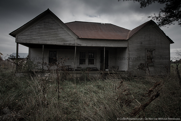 Abandoned House - Rural, TN