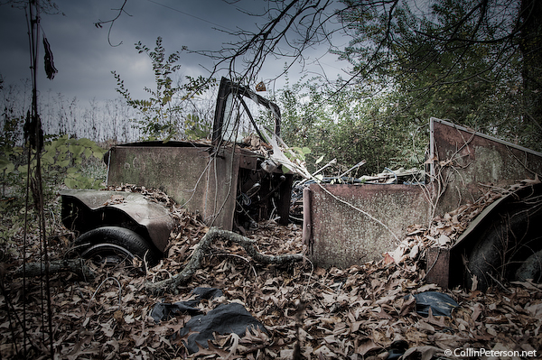 Abandoned Car - Fall Creek Falls Area - Rural, TN