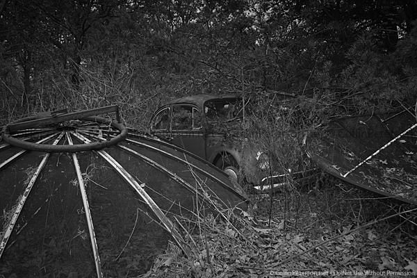Abandoned Car - Rural, TN