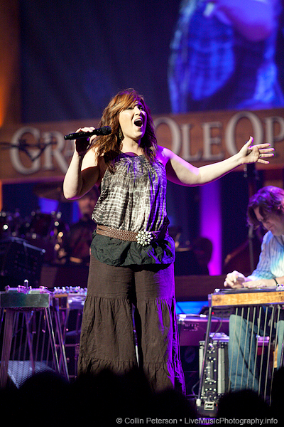 Jo Dee Messina at the Grand Ole Opry - Nashville, TN