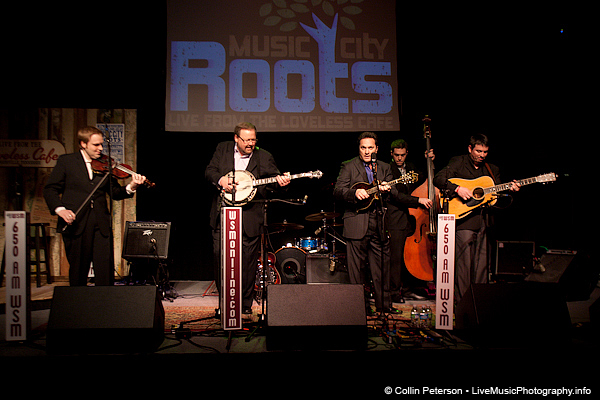 Larry Stephenson Band - Music City Roots - Loveless Cafe - Nashville