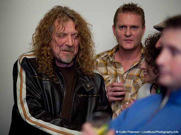 Robert Plant Hanging Out at Music City Roots - Loveless Cafe - Nashville