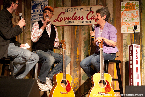 Barry and Holly Tashian - Music City Roots - Loveless Cafe - Nashville