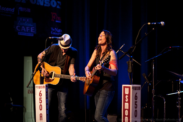 Brandi Carlile - Music City Roots - Loveless Cafe - Nashville