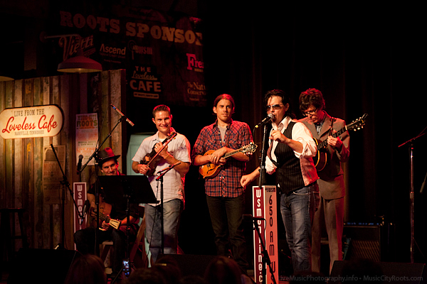 Mike Farris and the Cumberland Saints - Music City Roots - Loveless Cafe - Nashville