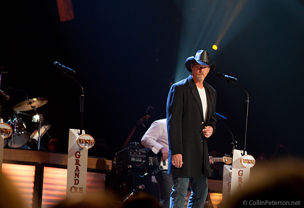 Trace Adkins at The Grand Ole Opry