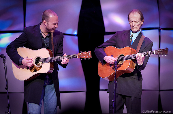 Josh Williams and Tony Rice - IBMA Awards 2010
