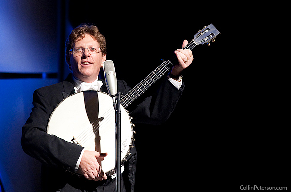 Tim O'Brien with Cello Banjo - IBMA Awards 2010