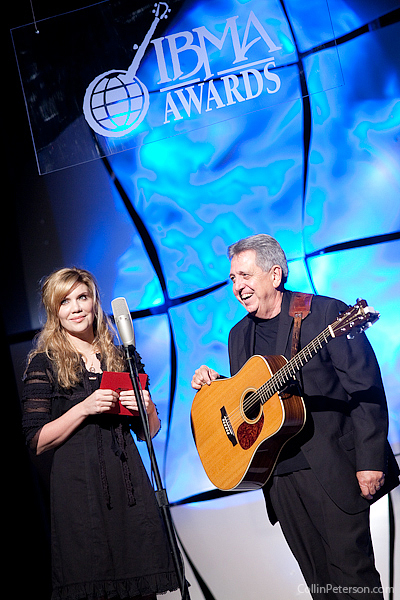 Alison Krauss and Rodney Dillard - IBMA Awards 2010