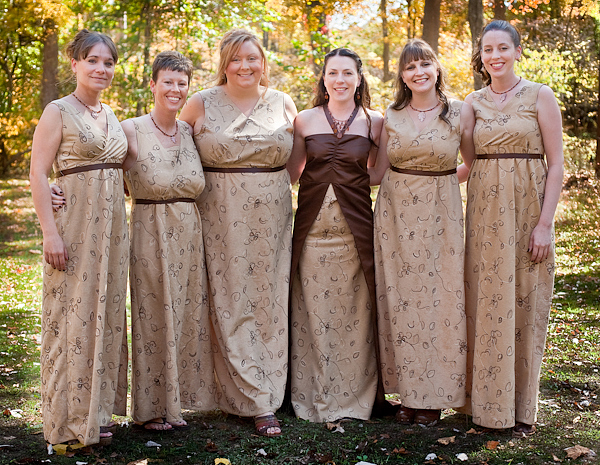 Jesse and Her Bridesmaids