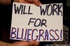 Bluegrass Underground - Will Work For Bluegrass
