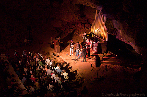 Cumberland Caverns Volcano Room - The Steeldrivers