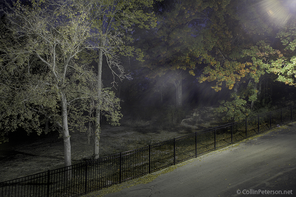 Tennessee Fall Colors at Night - HDR
