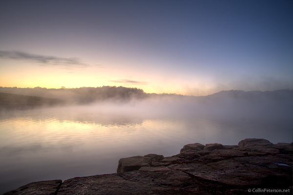 Fall Creek Falls Lake at Sunrise