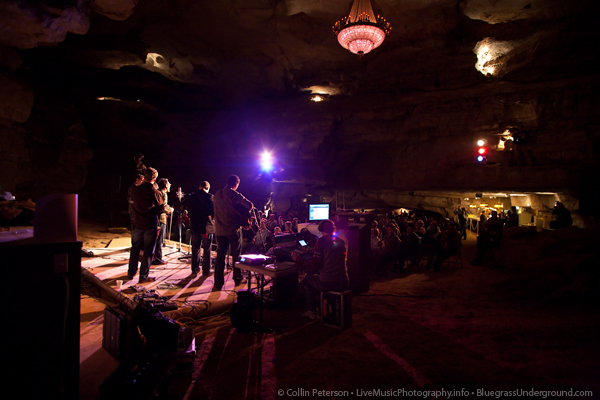 The Infamous Stringdusters - Bluegrass Underground at Cumberland Caverns