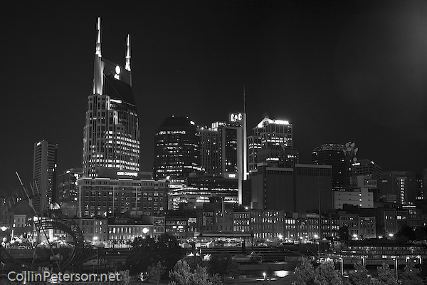 black and white city photography